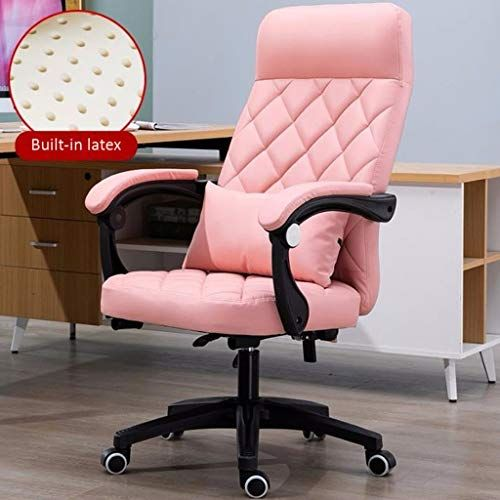 Geng Home Office Chair Back Reclining Study Conference Chair Lift Swivel Chair Boss Chair Ergonomic Computer Chai Ergonomic Chair Shop Chair Home Office Chairs
