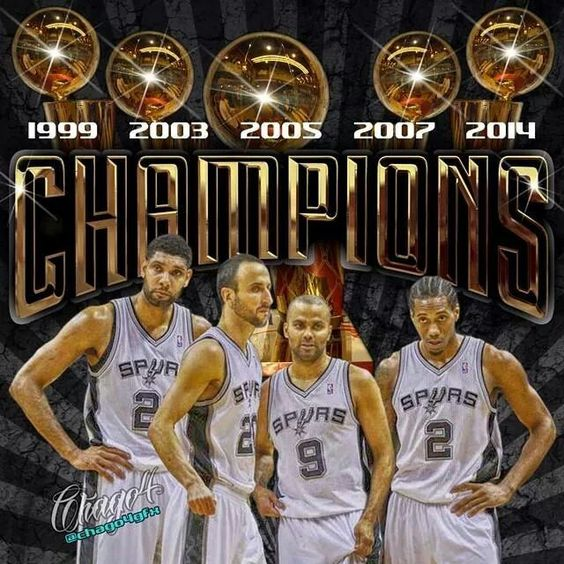 Spurs Championship Rings How Many