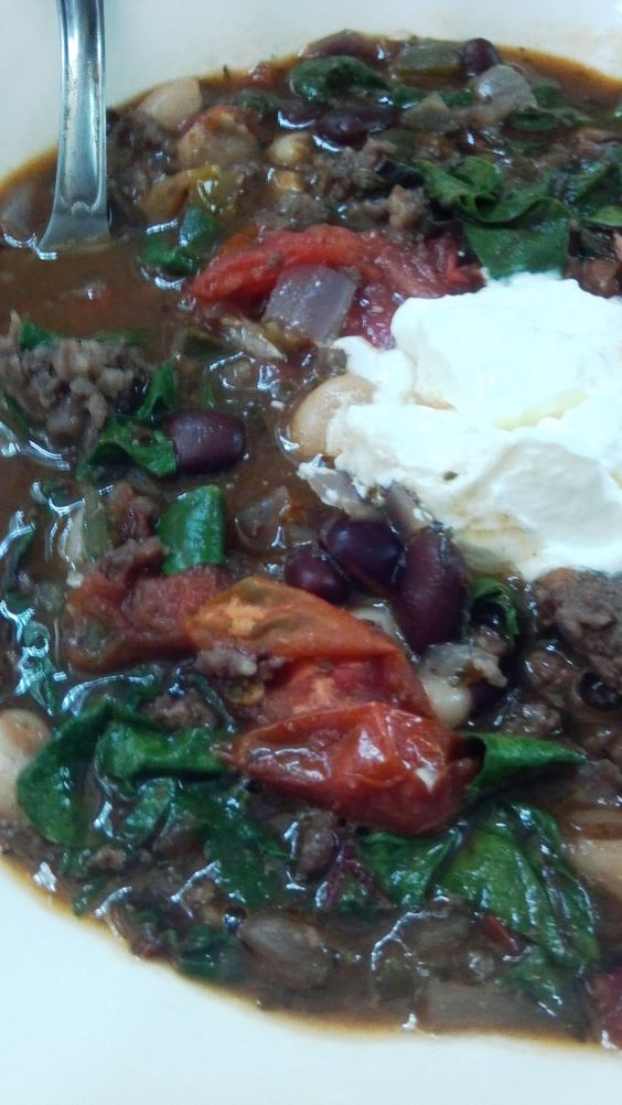 Loaded w peppers, tomatoes, spices and a dash of chocolate, this is outrageously delicious chili that is also highly nutritious and easy to make.