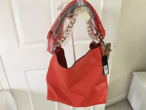 Ladies Orange And Gold Bag  By River Island - New With Tags https://t.co/HXG1zRtD65 https://t.co/EiYnhiTNTd