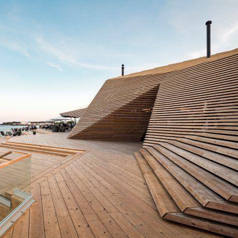 Löyly sauna, Helsinki, by Avanto Architects