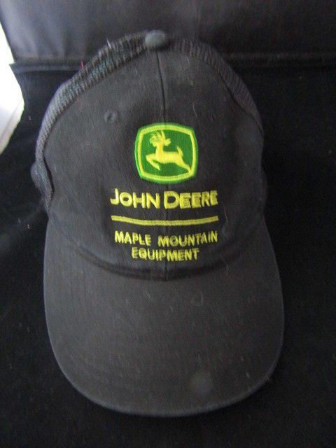 d280f4a2af6ed Details about John Deere Maple Mountain Equipment Baseball Cap in 2018
