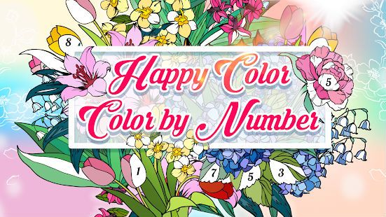 Download Happy Color For Pc Color By Number For Adults Happy Colors Color Games Coloring Apps