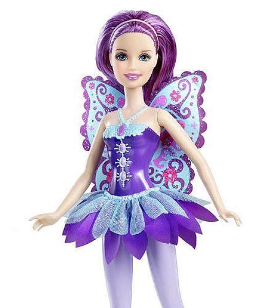 Barbie: A Fairy Secret dolls | Barbie A Fairy Secret Doll (Purple) Toys | TheHut.com
