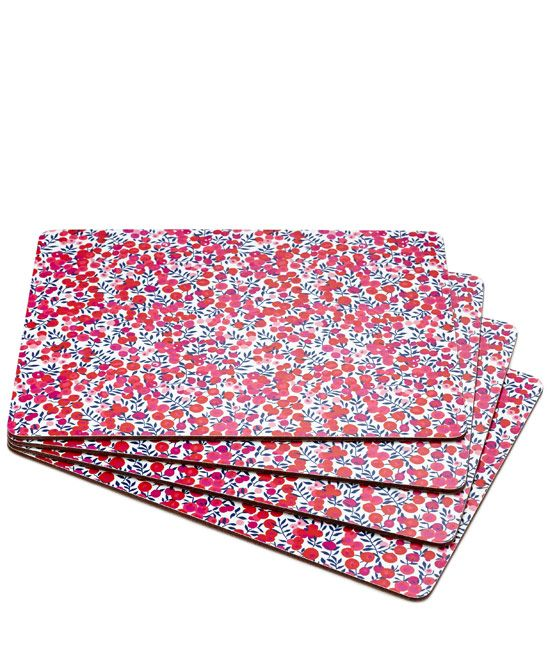 Flowers of Liberty Wiltshire Liberty Print Placemats