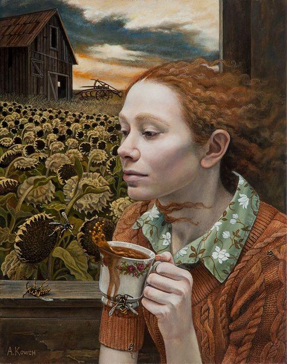 Ocio Inteligente: para vivir mejor: Pintores de hoy (104): Andrea Kowch (USA,1986).