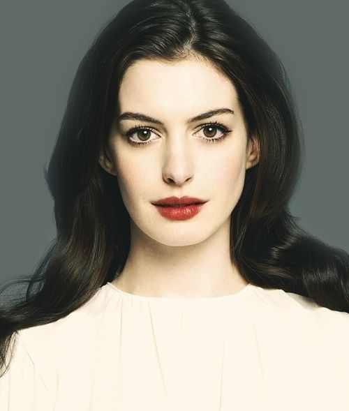 Anne Hathaway, Lips And The Lion On Pinterest