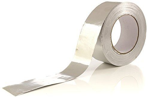 Amazon Com Aluminum Tape Aluminum Foil Tape 1 9 Inch X 150 Feet 3 4 Mil Good For Hvac Ducts Insulation And More Home Foil Tape Tape Duct Insulation