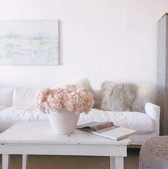 @janisfaye instagram. Rachel Ashwell Shabby Chic Couture Store. White decor.