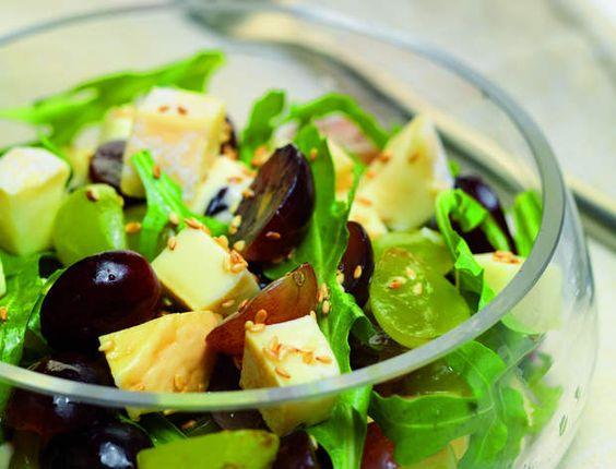 Salade des vendangesVoir la recette de la salade des vendanges