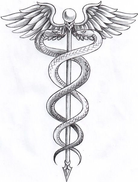 1000 ideas about caduceus tattoo on pinterest nurse tattoos - 1000 Ideas About Caduceus Tattoo On Pinterest Nurse