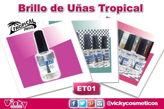 Brillo de Uñas Tropical 11ml