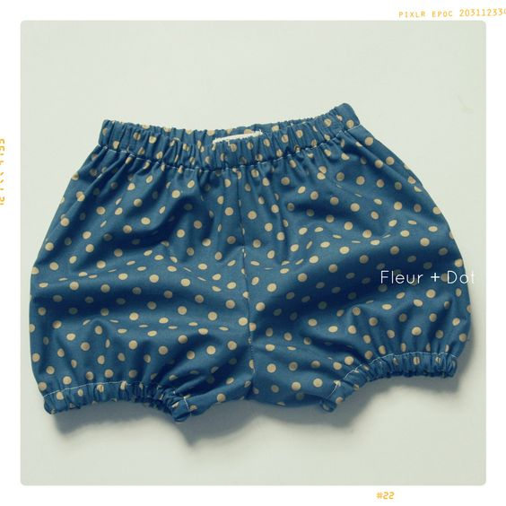 The Bubble Shorts Girls Baby Bloomers   Downloadable PDF Pattern ...