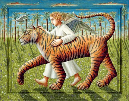 The Dove, the Tiger and the Angel, 2007, P J Crook
