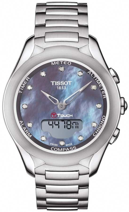 Tissot Women S T Touch Lady Solar Watch 38mm Solar Watch Watches Luxury Watches For Men