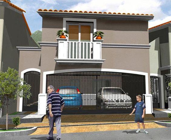 Fachada casa moderna con balcon 650 534 casas for Fachada de casas modernas con balcon