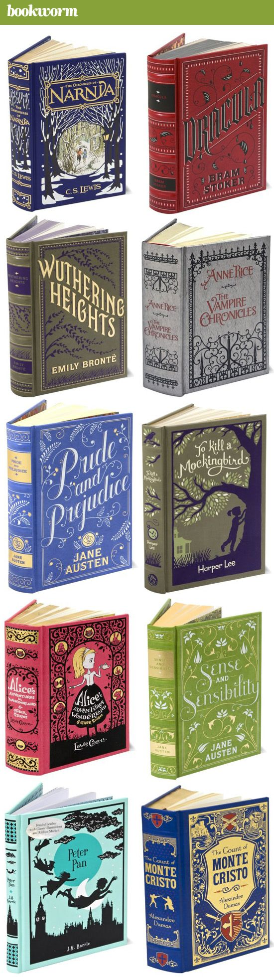 New Barnes and Noble editions! I would love the copy of Peter Pan, The Chronicles of Narnia, or The Count of Monte Cristo (I love you Alexander Dumas <3 ):
