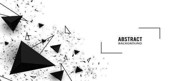 Elegant Abstract Background Triangle Shape Black And White Abstract Backgrounds Black And Blue Background Triangle Background
