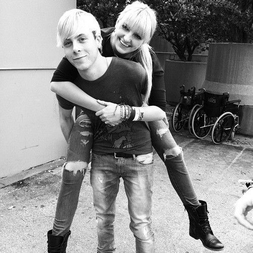 rydel and riker | Riker and Rydel Lynch
