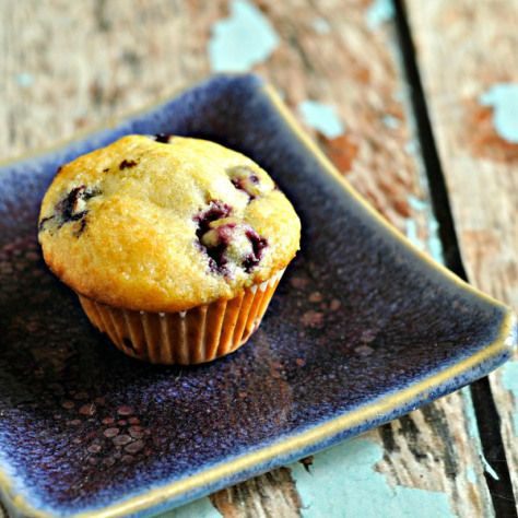 A taste of home - blueberry muffins