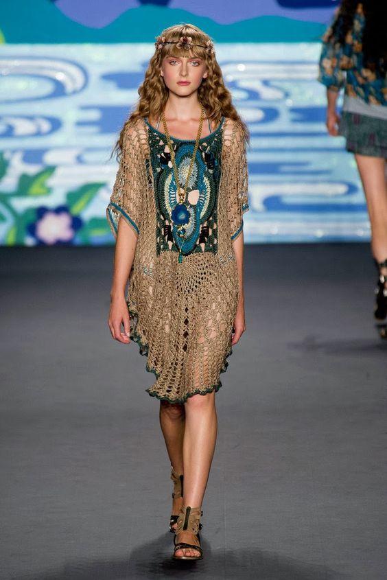 Crochetemoda: Elbiseler