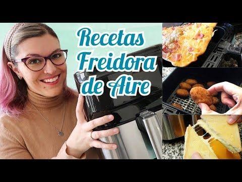 Recetas Freidora De Aire Cómo Usar La Freidora De Aire Freir Sin Aceite Youtube In 2021 Recetas Recipes Youtube