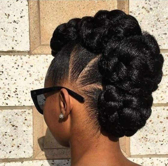 37 Gorgeous Natural Hairstyles For Black Women Quick Cute Easy Natural Hair Styles Easy Natural Hair Updo Natural Hair Styles For Black Women