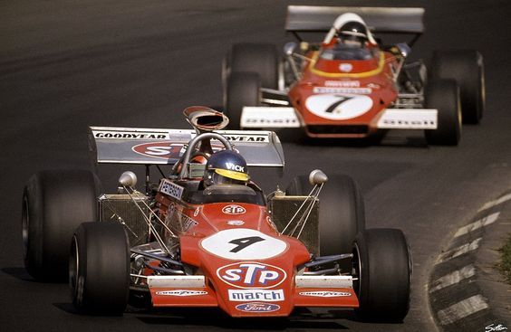 itsbrucemclaren:    Formula 1 1972, USA GP, Watkins Glen, Ronnie Peterson, March