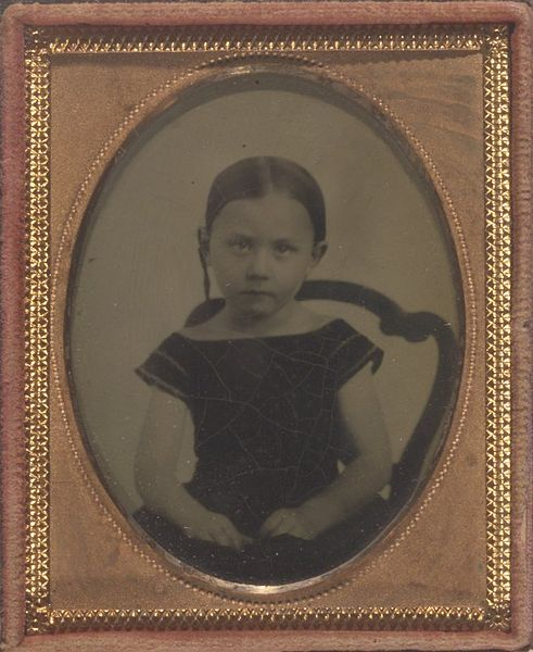 Miss Alice M. Beckwith 5 Years Old