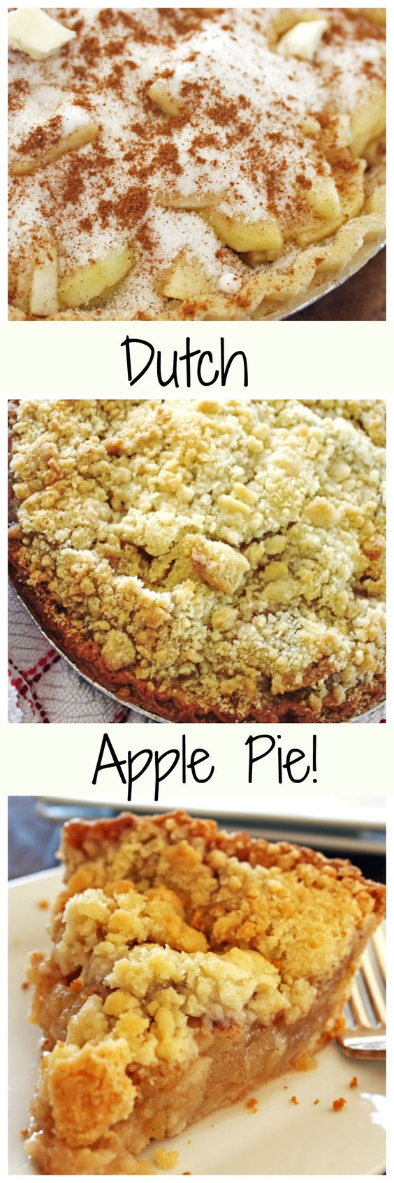 Apple Pie with a yummy crumb topping!  Perfect for the upcoming holidays!