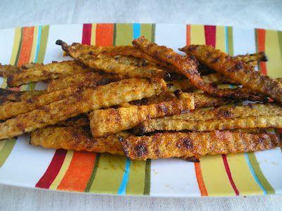 Edesia's Notebook: Eating the Alphabet: Baked Jicama Fries