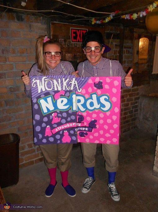 Two Nerds Costume Diy couples halloween costumes, Halloween - halloween costume ideas easy