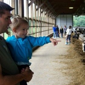 Family fun in Michigan! Check out these FREE breakfast on the farm locations for 2014 #JuneDairyMonth #MilkMeansMore