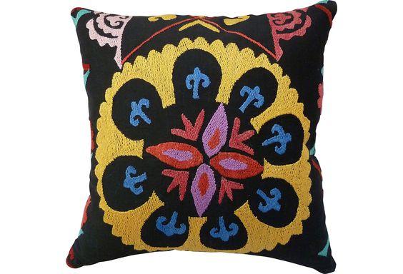 suzani pillow <3