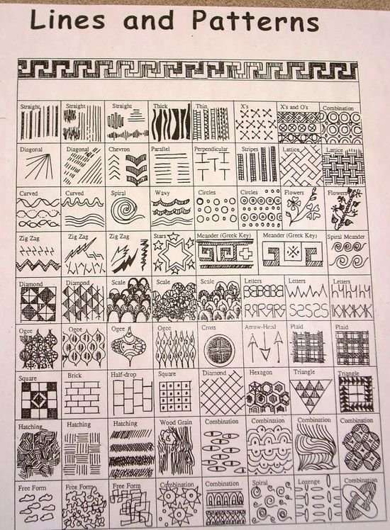 Worksheet Line Designs Worksheet line patterns and doodles on pinterest worksheets lines patterns