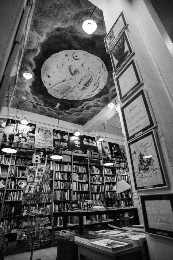 Un lugar único en Madrid y en el mundo: librería Ocho y Medio