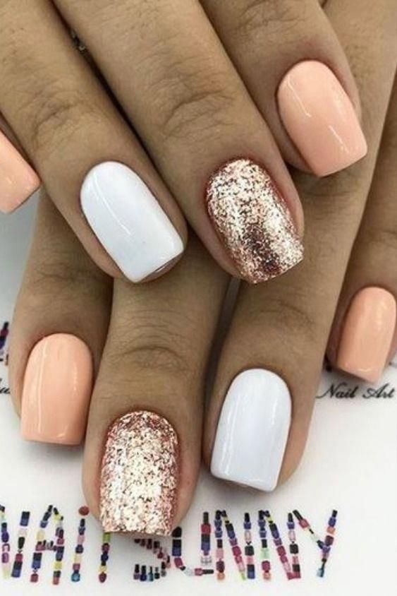 61 Summer Nail Color Ideas For Exceptional Look 2019 Nails