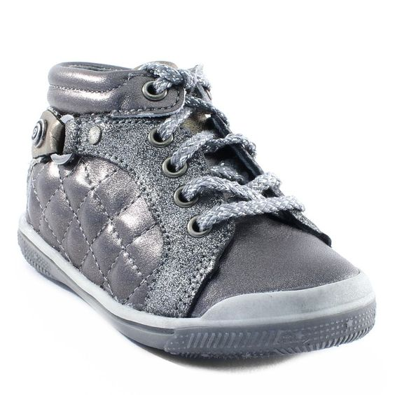 016A BABYBOTTE AOLA ARGENT www.ouistiti.shoes le spécialiste internet de la chaussure bébé, enfant, junior et femme collection automne hiver 2015 2016