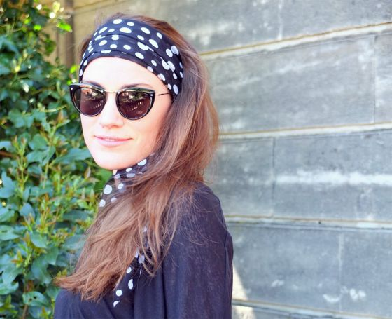 Polka Dotted Vamp // Kutch et Couture
