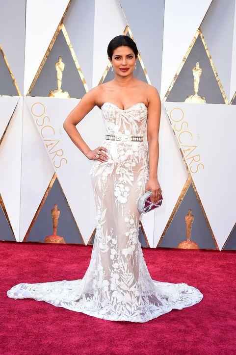 Priyanka Chopra in Zuhair Murad Couture at the Oscars