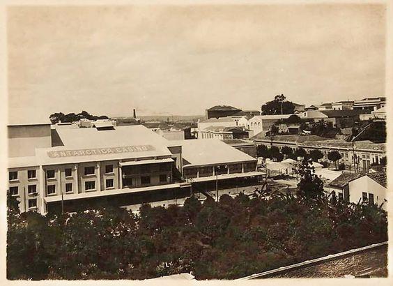 1912 - Teatro Casino Antártica na rua Anhangabaú.: