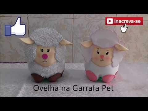 Varios Moldes De Bichinhos De Eva Em Garrafa Pet Brinquedos