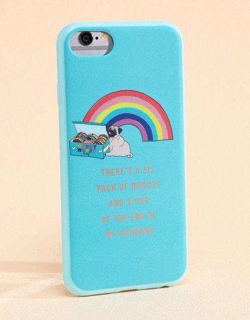 Iphone 678 Case Unicorn Rainbow