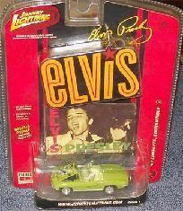 Elvis Presley Johnny Lightning 67 Green Corvette 1 64 Die Cast Car 2007 Thisnthat Jacob S