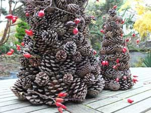 Decoration de noel exterieur en bois recherche google - Idee de decoration exterieur pour noel ...