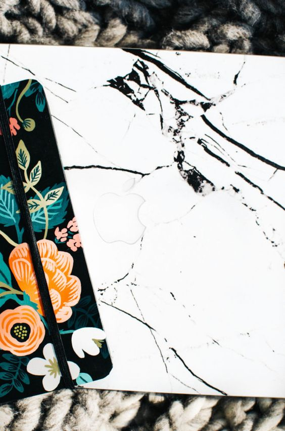 Upgrade Your MacBook or Apple products with @Uniqfind skins! Marble, prints, speckles and more available. So fun and cheap way to freshen up your look.