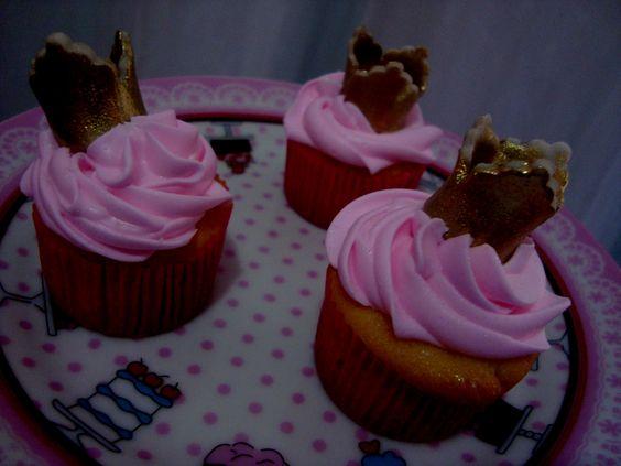 mini cupcakes princesinha