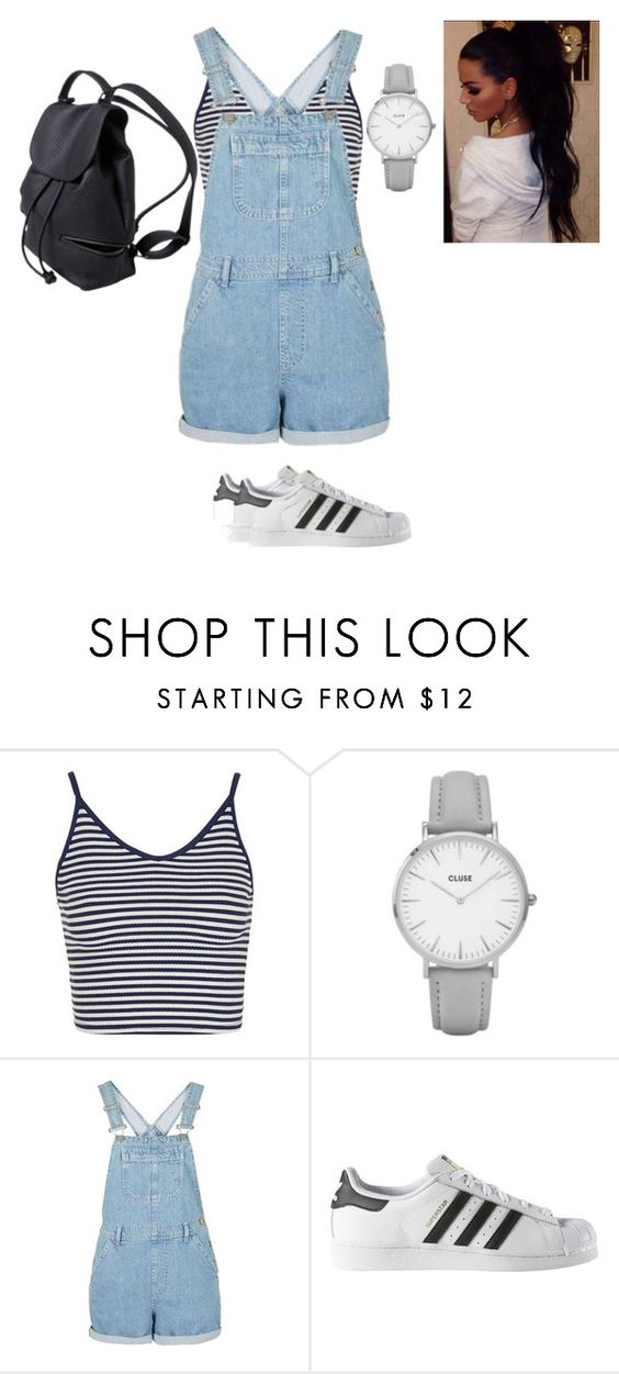 """""""Layla"""" by nerdgirl14-boss on Polyvore featuring Topshop and adidas"""