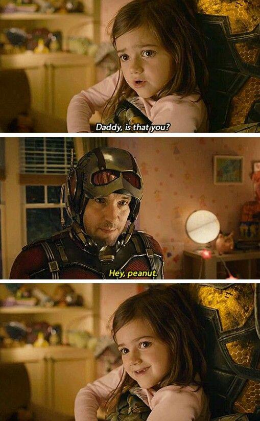 AHH Cassie is so cute! 〖 Marvel Ant Man Scott Lang Cassie cute 〗
