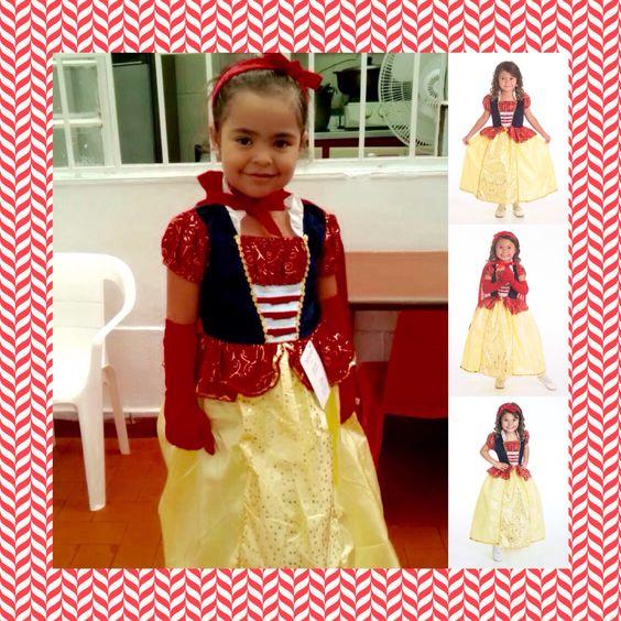 #SoyUnaPrincesa Hermosa princesa desde Envigado-Antioquia, feliz luciendo su Look completo de #Blancanieves. Para ver todos nuestros Looks ingresa en www.princesas.co/princesa-look ¡Tu princesa lucirá hermosa! Además al adquirir el look completo ahorras el 20%